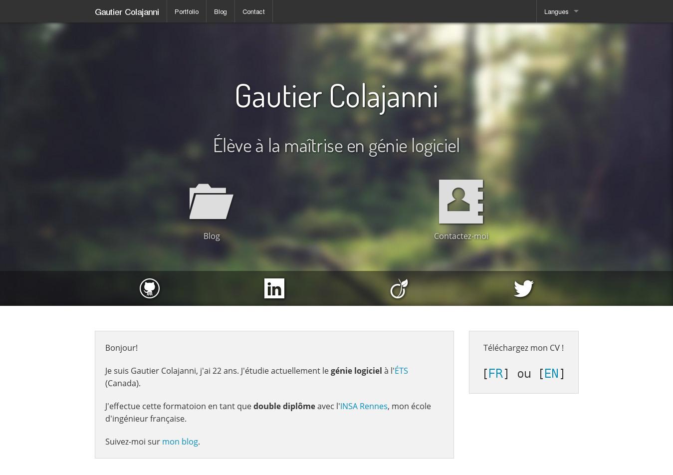 Nouveau Web CV
